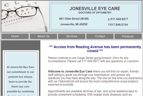 Jonesville Eye Care